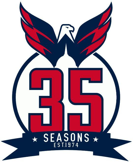 Washington Capitals Anniversary Logo (2009) -