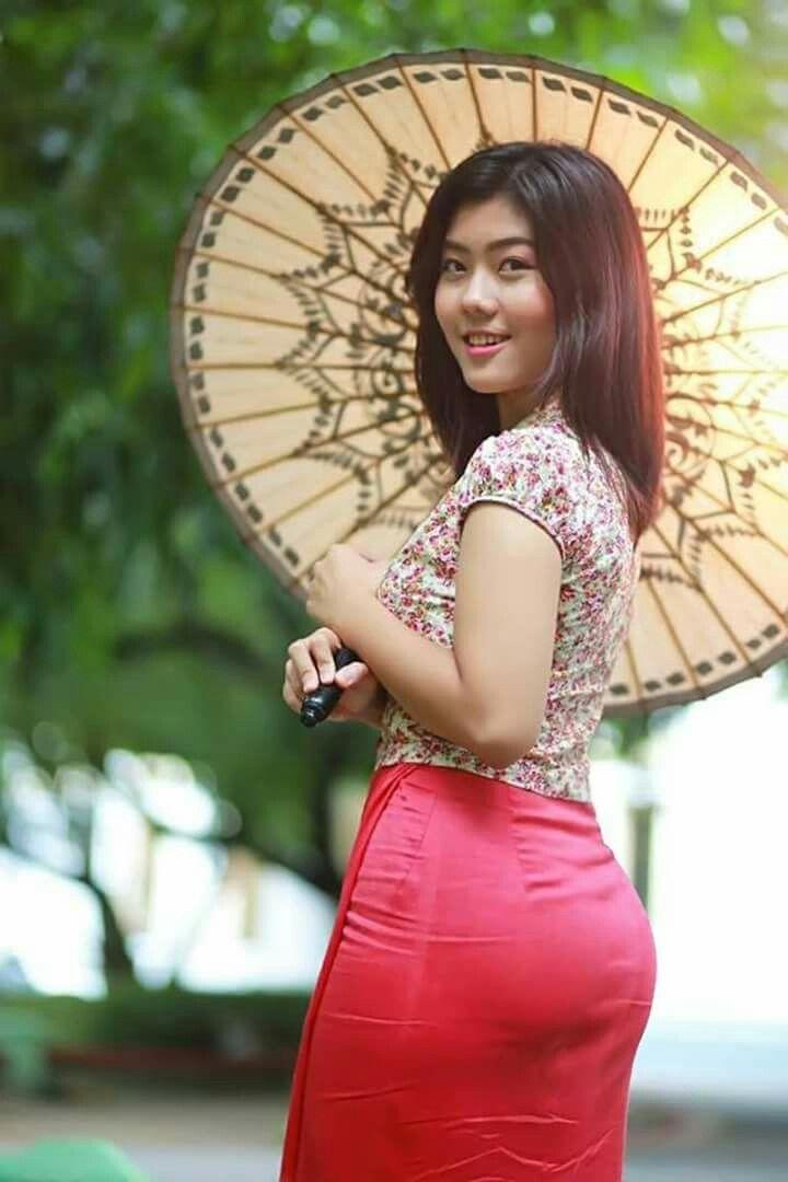 Myanmar Girl  Myanmar Girls In 2019  Beautiful Asian Girls, Asian -9869