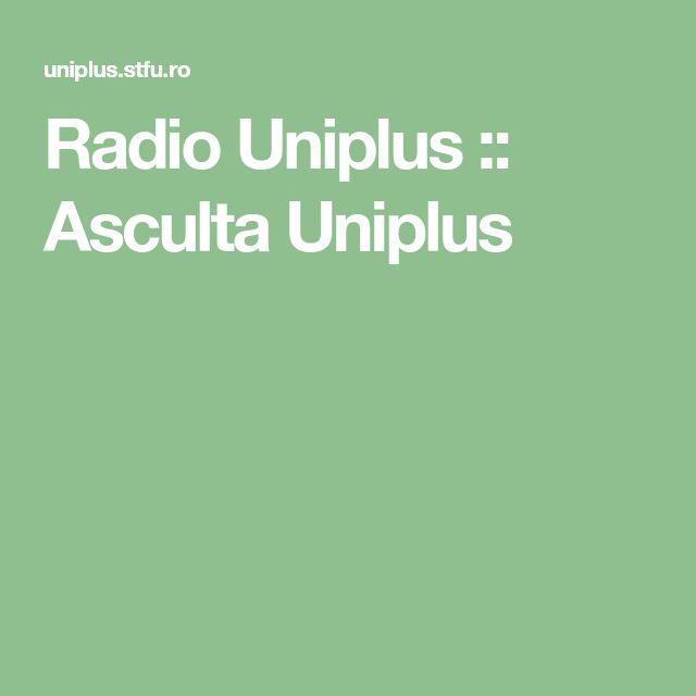 Radio Uniplus :: Asculta Uniplus