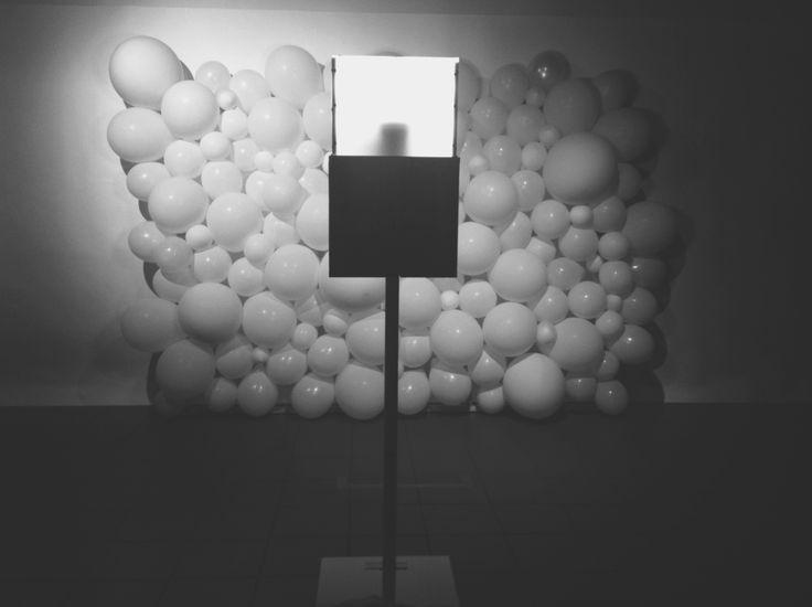 Balloon background for booth amigo booth
