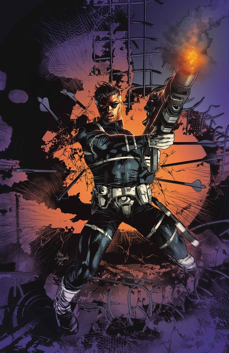Occupy Avengers #4 - Nick Fury by Mike Deodato Jr. - Marvel Comics