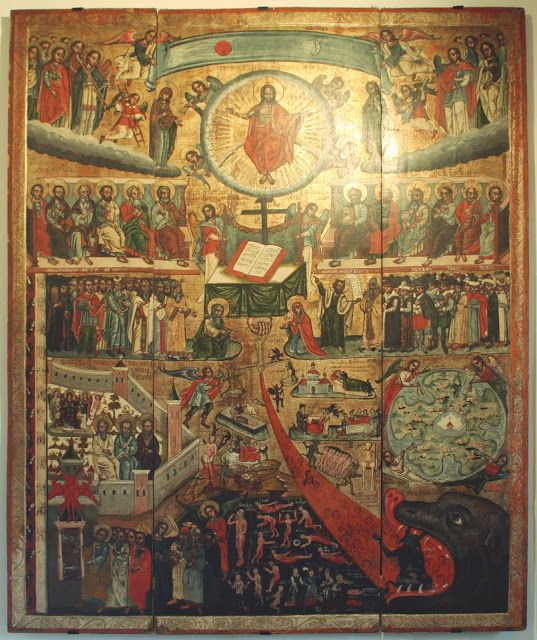 Iconographic Analysis of the Last Judgment    Learn more: http://catalogueofstelisabethconvent.blogspot.com.by/2018/02/iconographic-analysis-of-last-judgment.html     #CatalogOfGoodDeeds #OrthodoxBlog