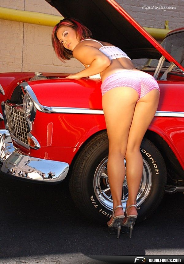 Best PIN UPS AND CLASSIC AMERICAN CARS Images On Pinterest - Car sticker decal for girlsjenna jenovich sexy girls pinterest girls