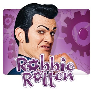 Lazy Town's Robbie Rotten. I can't believe this actor doesn't have a daytime Emmy for this show.