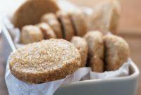 Постное датское печенье с коричневым сахаром