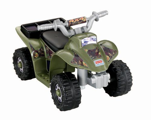 Cool 'n sporty ATV styling Toddler-friendly features Push-button operation.   toys4mykids.com