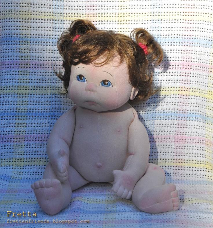 """19"""" Soft Sculpture Doll"""