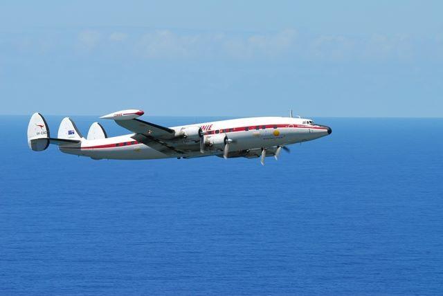 "Lockheed Super Constellation (""Connie"") WOI Airshow Sunday 4 May 2014 Wollongong, Australia"