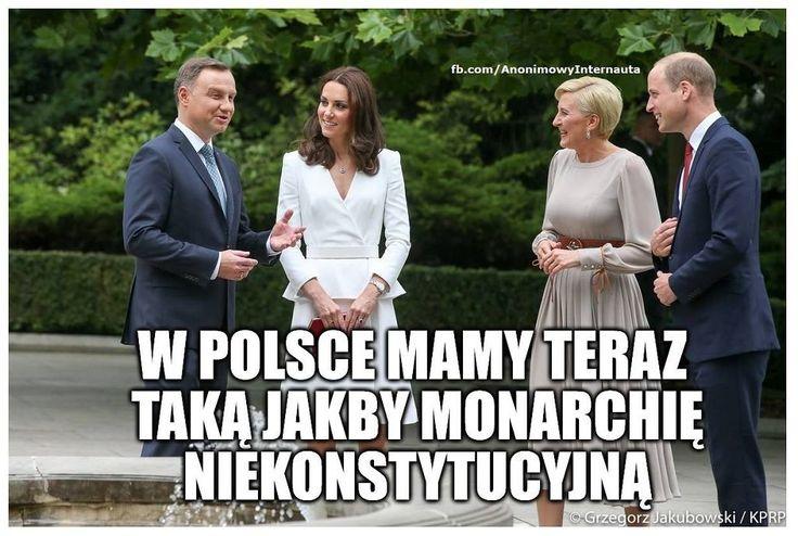 Książę William i księżna Kate w Polsce - Memy