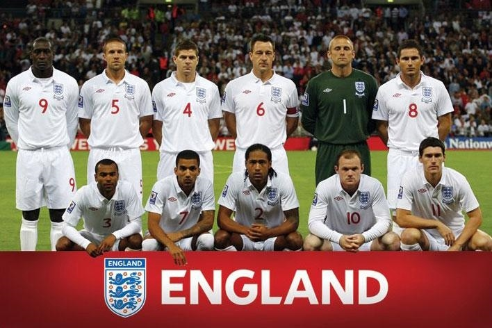 England Football Team Euro. I don't know much about football, but it's hard to accept that these guys could play better than Brazil. I'm just saying//