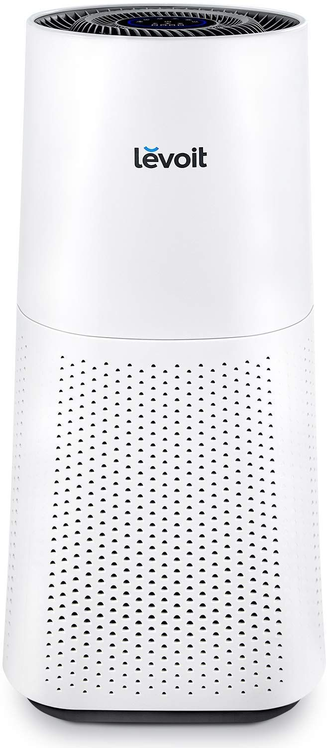 Amazon Com Levoit Air Purifier For Home Large Room With True Hepa Filter For Allergies And Pets Cleaner For Mold Pol In 2020 Odor Eliminators Purifier Air Purifier