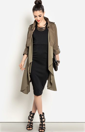 17 Best images about Trench on Pinterest | White trench coat ...