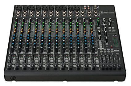Mackie 1642VLZ4 Compact Analogue Mixer: Amazon.co.uk: Musical Instruments