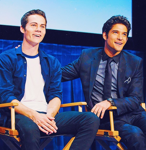 dylan and tyler: Dylan O' Brien, Teenwolf, Teens Wolf Cast, Dylan Obrien, Boys, Things Teens, Tyler Posey, Wolf Guys, Dylan O'Brien