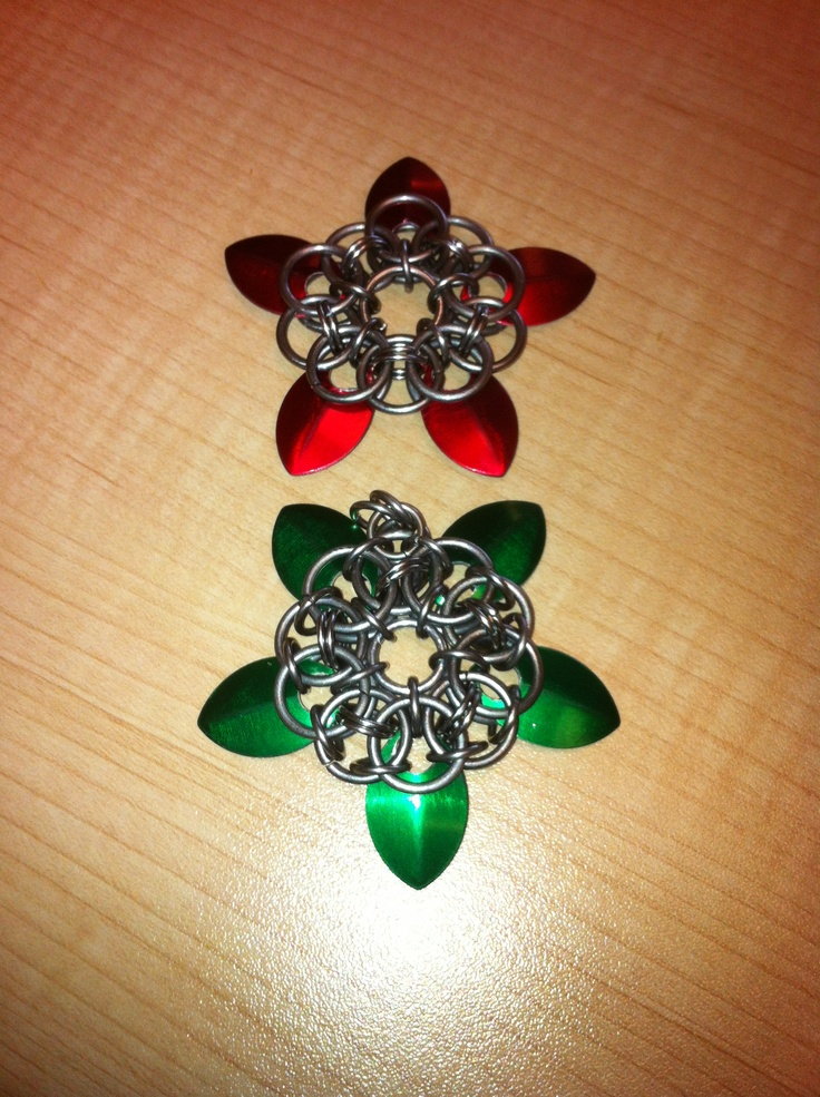 A few of the pendants I make.  Ask for more info.  Bcchains chain mail and more on facebook.