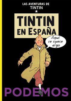 Les Aventures de Tintin - Album Imaginaire - Tintin en España