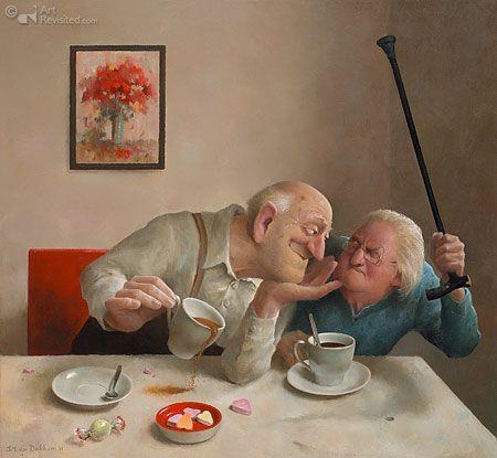 Liefde van één kant Art Marius Van Dokkum