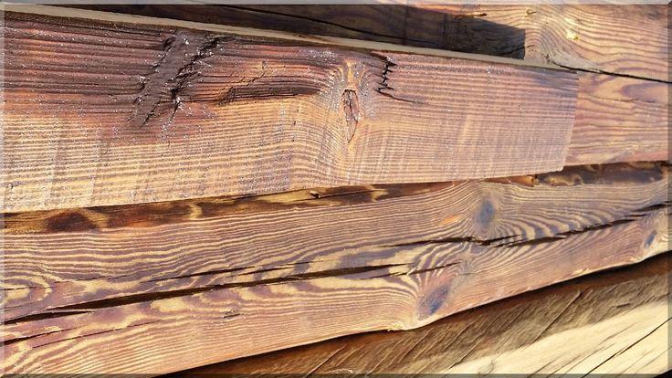 Bontott gerendák, antik faanyagok