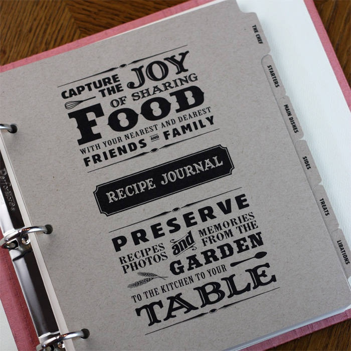 I need to organize all of my recipes! I like this fun cover sheet idea.