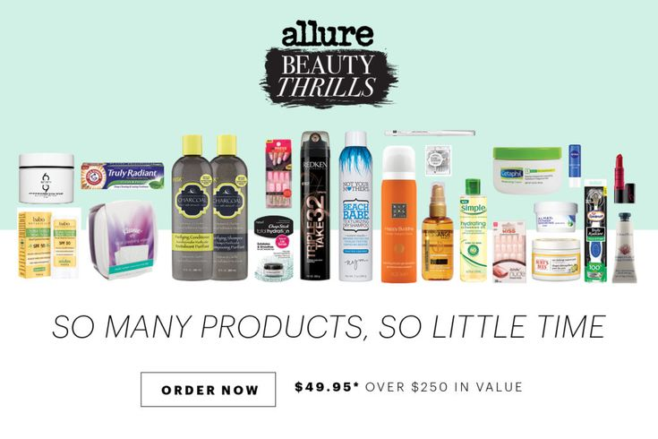 May 2017 Allure Beauty Thrills Box ~ Limited while quantities last...