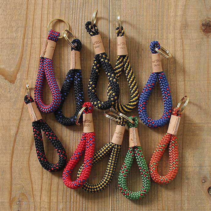 TRAD MARKS – CLIMBING ROPE KEY CHAINS