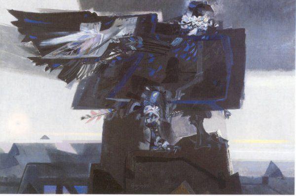 Alejandro Obregón, Amamencer el Los Andes (serie del Cóndor), 1959