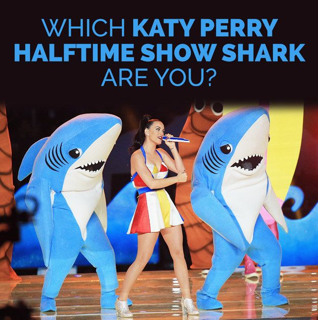 Which Katy Perry Halftime Show Shark Are You ~~~~~~~~~~~~~~~~~~~~~~~~~~ You got: Snoop Shark Look at you on Katy's left, Snoop Dogg! I'll bet you were the alligator in NBC's Peter Pan Live too, weren't you?