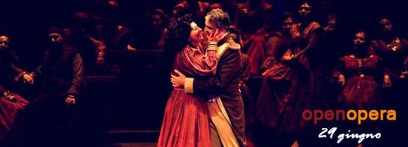 Open Opera back to Piazza di Spagna