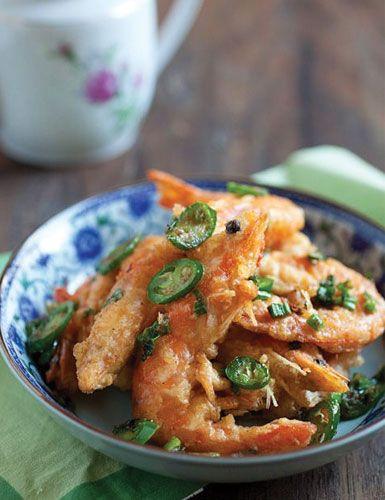 Receita de camarão picante