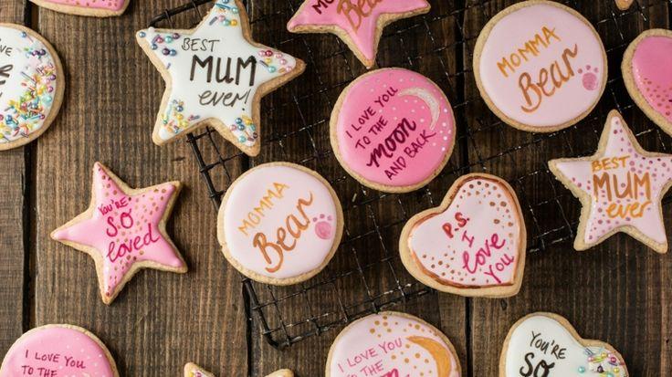 #Kekse zum #Muttertag #backen mit Glasur und #Gru…