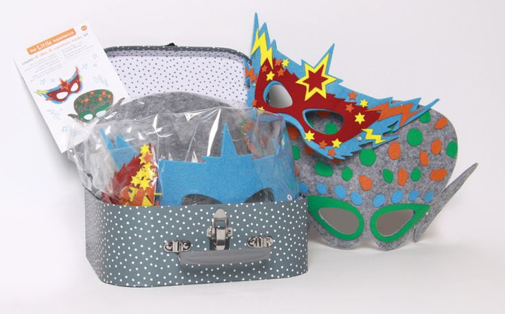 Stick It Alien and Superhero Masks Kit #limetreekids