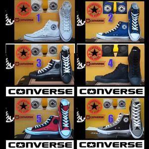 SEPATU CONVERSE ALL STAR HIGH + BOX GRADE ORI
