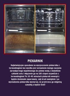 Jak czyścić piekarnik z termoobiegiem? Sami zobaczcie!!!