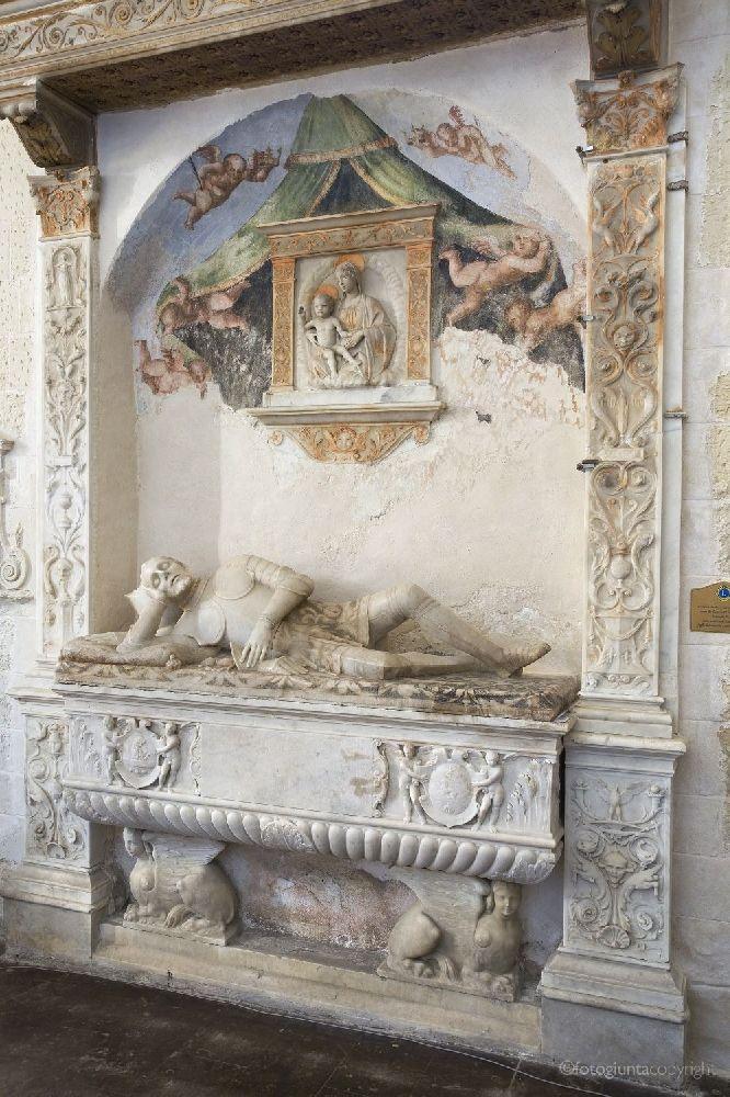 Tomb of Prince Naselli, Comiso (RG), Sicily.