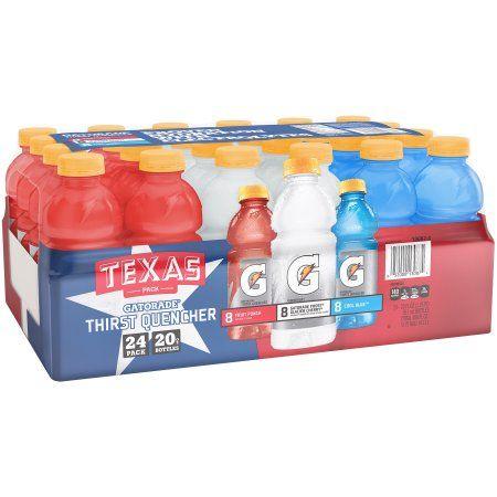 Gatorade® Texas Pack Sports Drink 24-20 fl. oz. Bottles