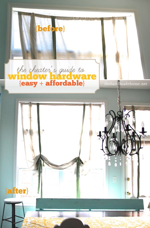 the cheater's guide to window hardware (easy diy windows) | the handmade home