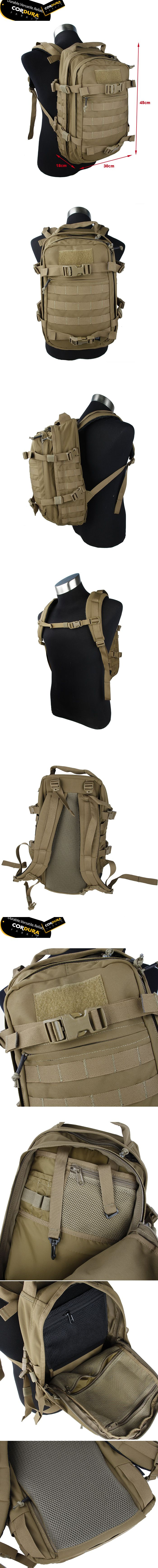 EbairSoft Airsoft parts & Tactical Gear - G TMC DYP VENT MOLLE Pack ( CB ) DYT029-CB