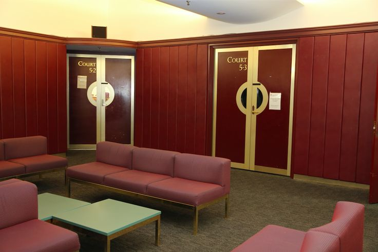 Here are the courtrooms which generally get the most action in Downing Centre Court, and some tips on court etiquette.