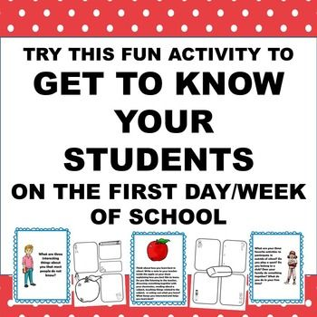 20 best First Week of School images on Pinterest | Classroom ideas ...