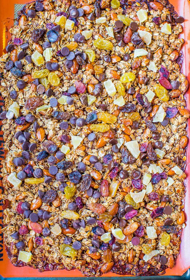 Big Clusters Maple Cinnamon Chocolate Chip Granola (vegan, gluten-fre ...