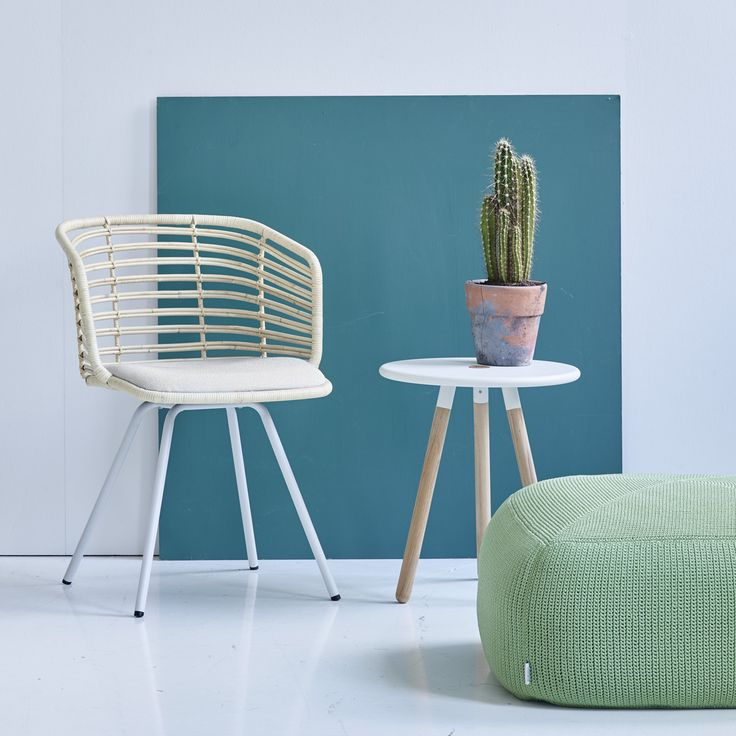 Spin chair, Area table stool and Divine footstool. Mix and match - it is your life, your choice.