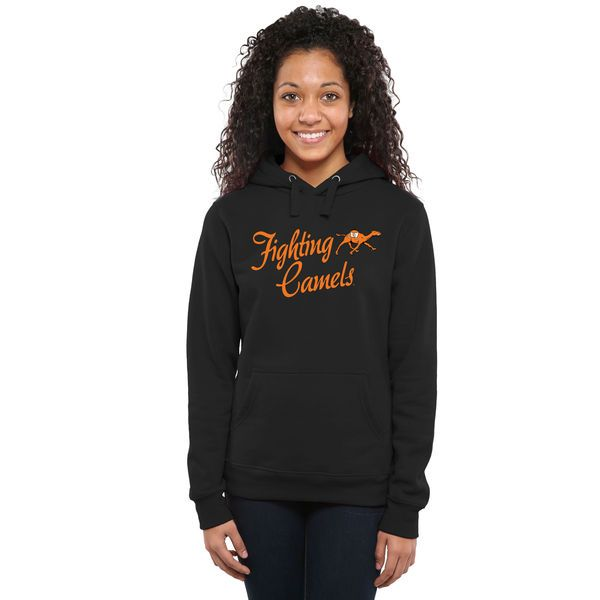 Campbell Fighting Camels Women's Dora Pullover Hoodie - Black - $44.99