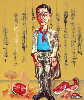 """[Contemporary art in China]  """"Chinese checkers""""  The wild, wild world of the Chinese contemporary-art market"""