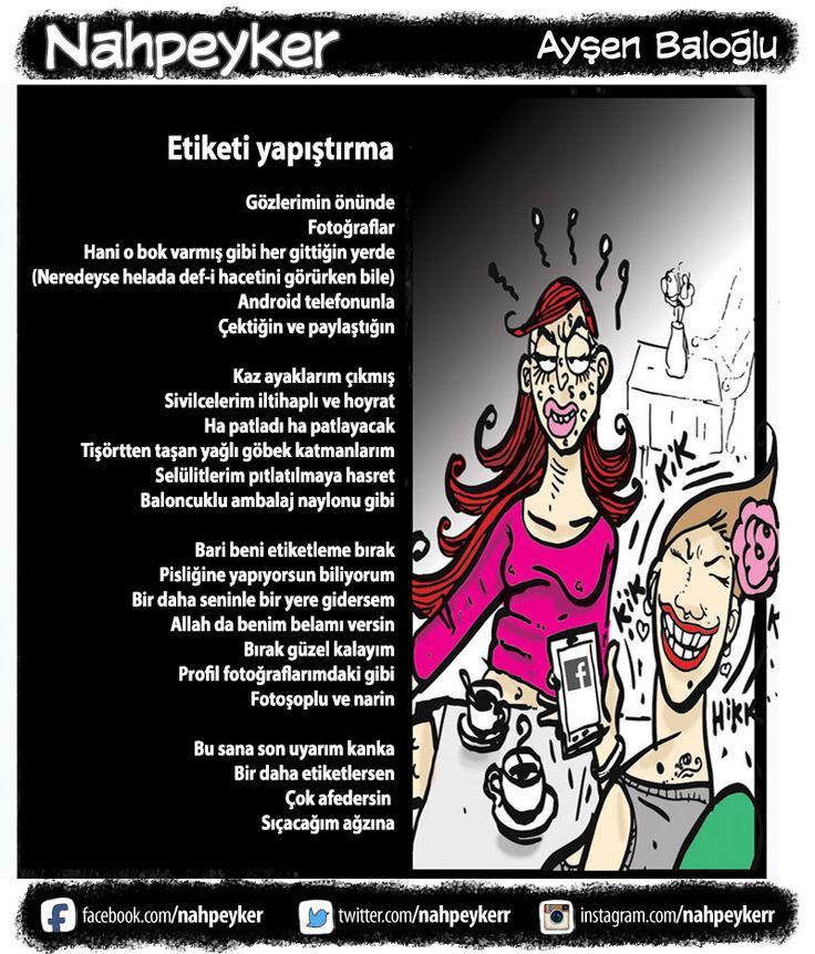 #nahpeyker  #ayşenbaloğlu  #etiket  #etiketleme  #internet  #sosyalmedya  #arkadaş  #komik  #gülmece  #karikatür  #mizah  #şiir  #güzellik  #sivilce  #kafe  #cafe  #fotoğraf #karikatür  #mizah  #gülmece  #komik  #komedi #karikatur #enkomikkarikatür #enkomikkarikatur #funny #comics #aysenbaloglu #ayşenbaloğlu #gülmece #çizim #şiir #matrak #kadın #feminist #nahpeyker