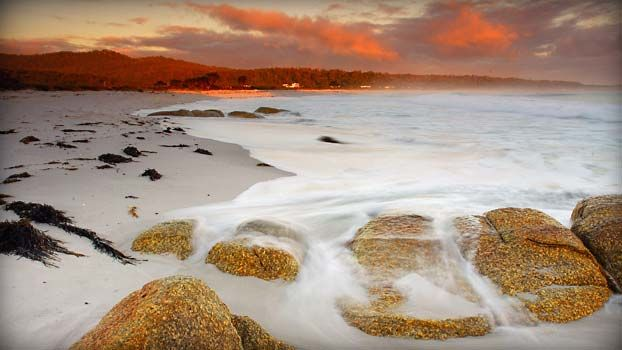Bay of Fires - close to the Pipers River vineyards #Tasmania