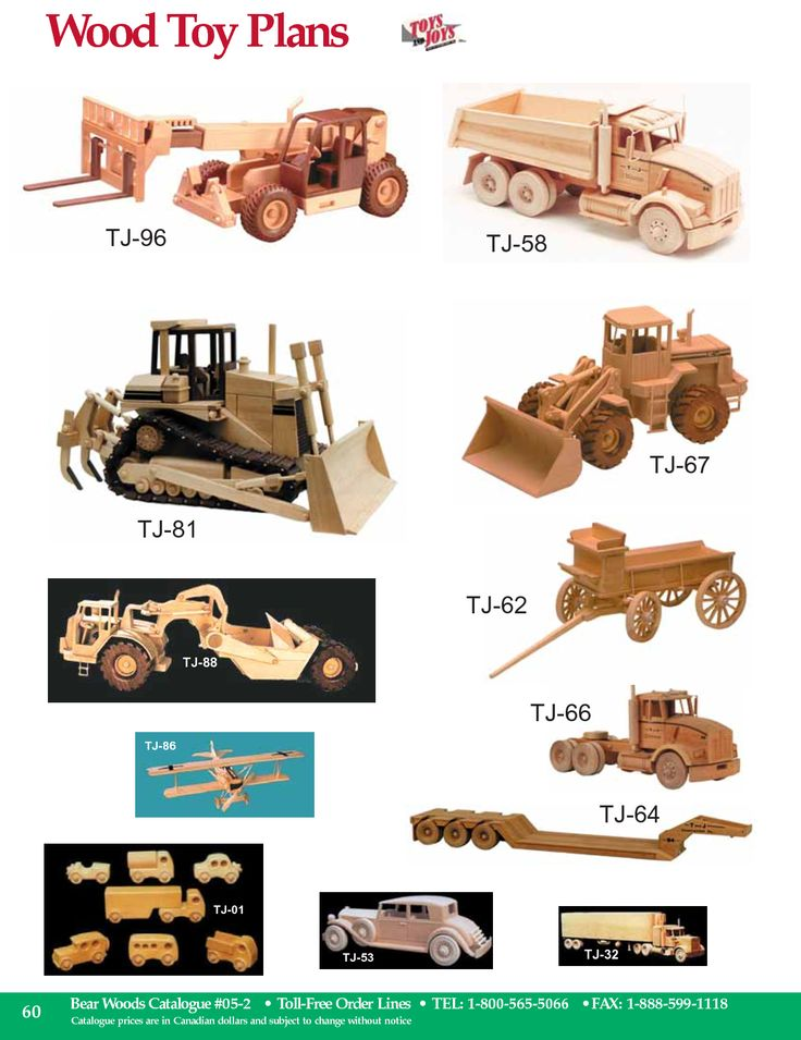 Toys And Joys Woodworking : Free wood toy plans wooden toys pinterest