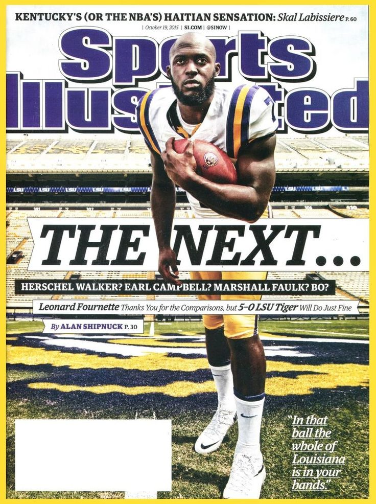 Sports Illustrated Magazine October 19, 2015 LSU Tiger