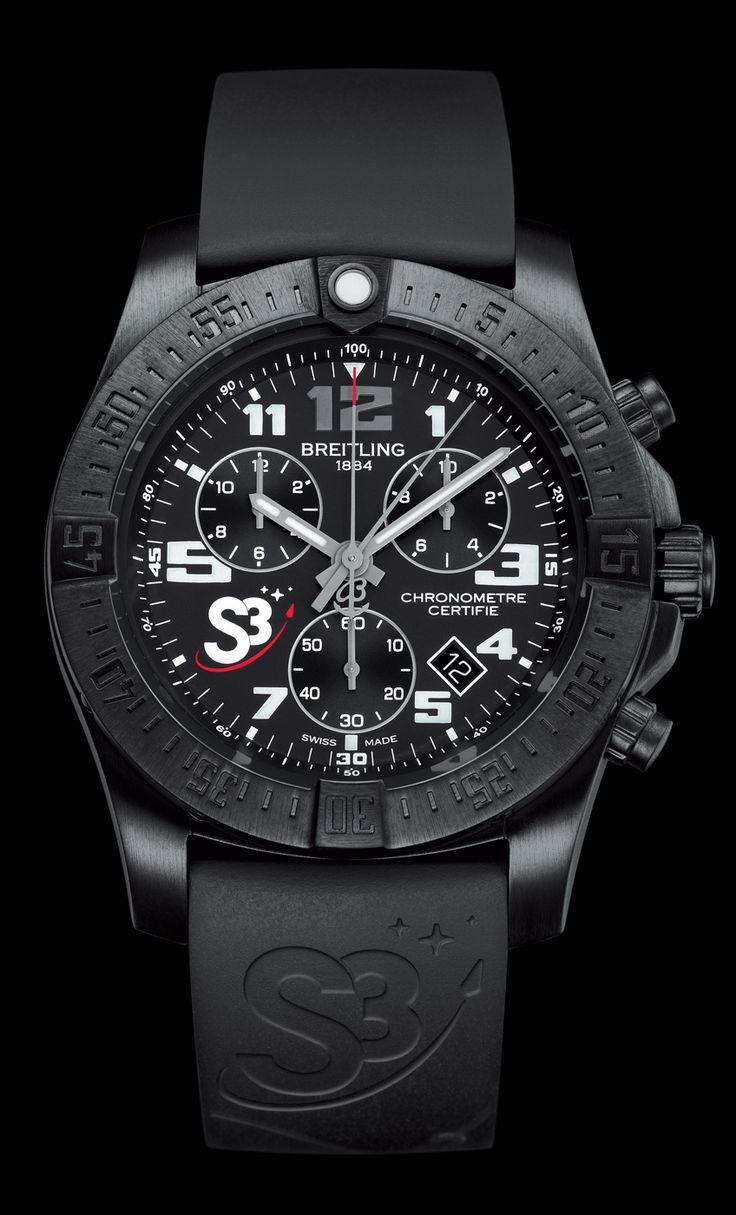 Chronograph S3. The Zero Gravity Watch. #swissspacesystems #s3zerog - Breitling - Instruments for Professionals