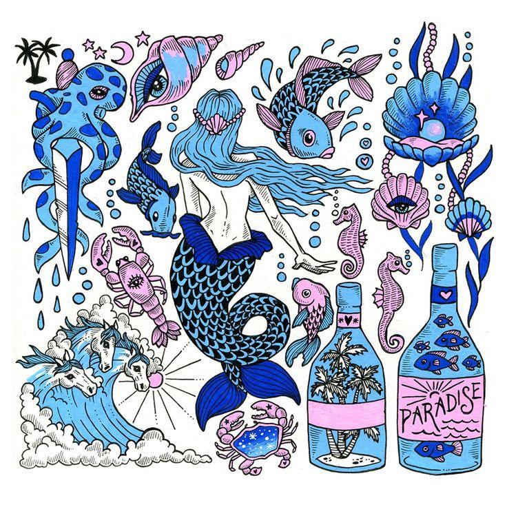 Image of Mermaids & Mystics - Original artwork