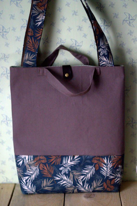 Canvas Tote bag Canvas tote Shopping bag Handmade Bag Shoulder